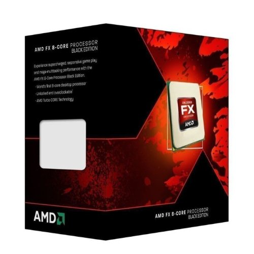 AMD FX-8350 FD8350FRHKBOX Prozessor (Black Edition, 8MB Cache, 4.00 GHz Turbo 4.20 GHz, Sockel AM3+) weiß