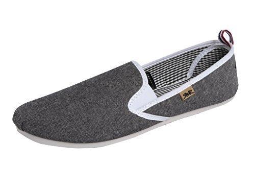 rock-espadrilles-religion-atkins-toile-casual-pompes-plimsolls-chaussures-plates-gris-gris