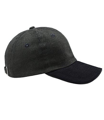 EveryHead Kai Balke Herrenbasecap Basecap Baseballcap Schirmmütze Sommercap Streetwear schwarz mit Metallverschluss für Männer (KB-3392-S16-HE0-18-58) in schwarz, Größe 58 inkl...