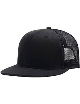 Aieoe Gorra de Béisbol Unisex Sombrero de Visera Plano Ajustable Snapback de Moda para Hombre mujer