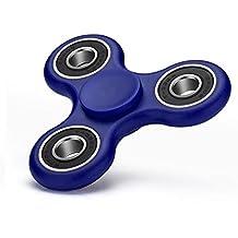 Fidget Tri (dreifach) Spinner Anti Stress Kreisel Hand Spielzeug in Blau von VAPIAO