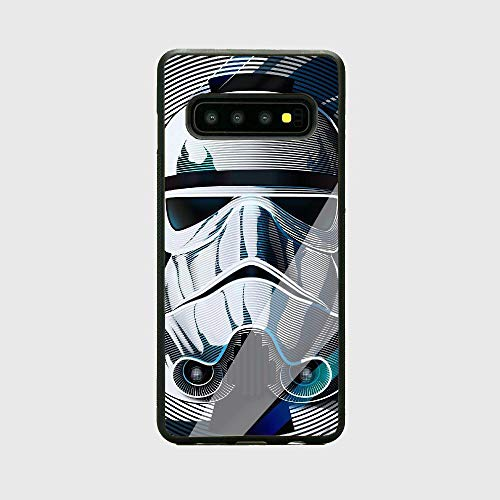 POLLEC GUETS lqqkoqcri nxisc TPU Schwarz Shell Case Hülle mrnebp Gehärtetes Glas Back Cover for Samsung Galaxy S9 Plus lplkvq
