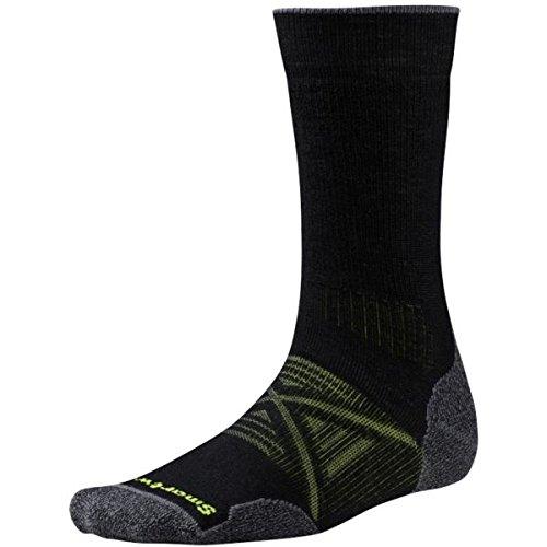 Black Crew Socken (Smartwool Herren Phd Outdoor Crew Socken, Schwarz (Black), L)