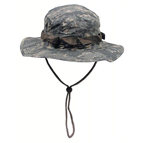 A. Blöchel US Army Outdoor Dschungelhut Rip Stop Boonie Hat Schlapphut in vielen Farben und Größen (XL, AT Digital)