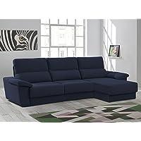 Sofa de 3 plazas más chaiselongue modelo Kuga Serie Freedo. Disponible en varios colores