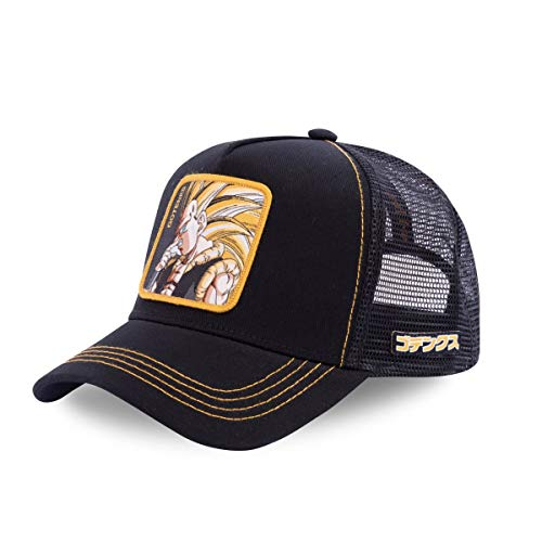 Capslab Gorra Negra Gotenks - Dragon Ball