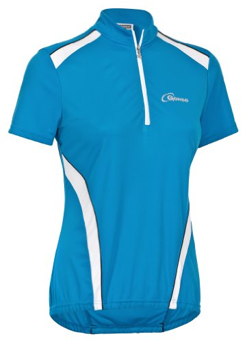 Gonso Damen Rad-trikot Monrovia, blue jewel (335),46, 44001