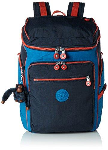 Kipling - UPGRADE - GROßER RUCKSACK MIT LAPTOP SCHUTZ - Blue Orange Bl - (Blau) Preisvergleich