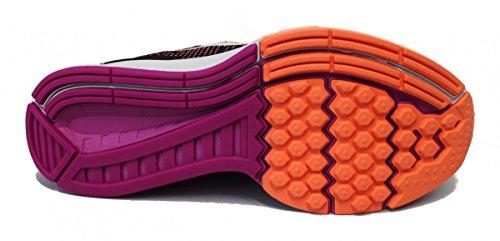 Nike W Air Zoom Structure 19, Chaussures de Running Entrainement Femme black/hyper orange/vivid purple/white