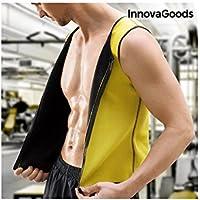 InnovaGoods IG117742 Chaleco Deportivo, Hombre, Amarillo, XL