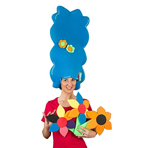 Parruca gommapiuma - Marge Simpson