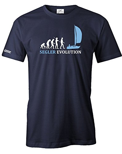 SEGLER EVOLUTION - SEGELN - HERREN - T-SHIRT in Navy by Jayess Gr. L
