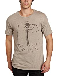 Batman DC Comics Sketch Vintage Style Junk Food Adult T-Shirt Tee