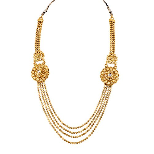 Apara Gold Plated MultiStrand Jewellery Set For Women