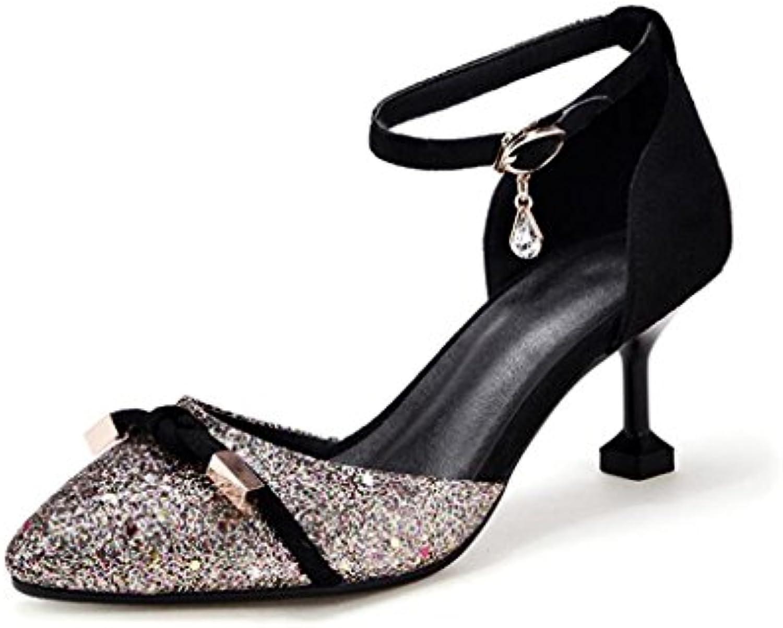 la xuerui mme talons talons talons hauts talons aiguilles des emplois se fashion sexy 6,5 cm talon (couleur: or, taille...b07dc6vwys parent | Shopping Online  9199fe
