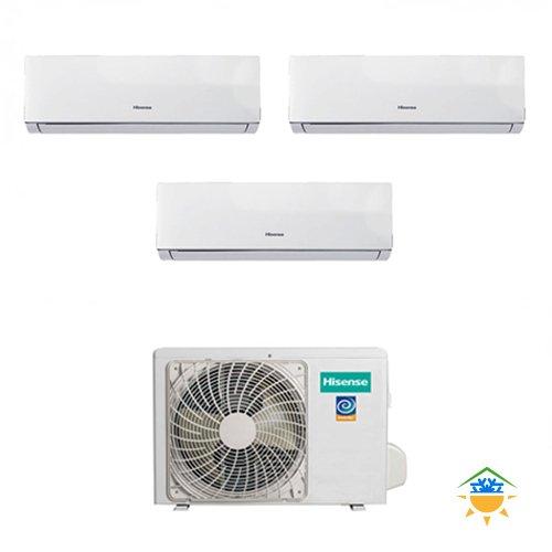 Condizionatore Climatizzatore Trial Split Inverter Hisense Comfort 7000+9000+9000 7+9+9 Btu...