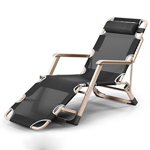 YXYH Falten Lounge-Sessel Mittagspause Nickerchen Multifunktion Bett glücklich Stuhl Rückenlehne...
