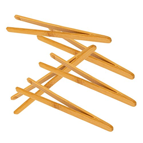 5 Pincette Anti-statiquesen Bambou Outil Pince pour Micro Paysage Jardinage - Droit