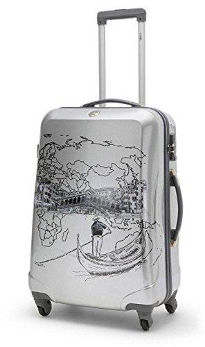 Ciak Roncato Trolley ToDo-di Venezia sul-77cm/4,3kg/104litri-Italiana. Design-Ciak Roncato