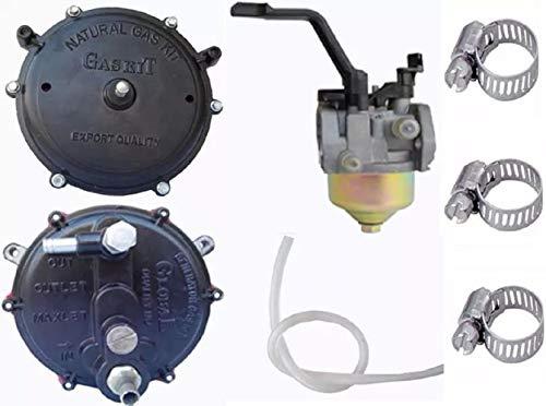 Global Erdgas/LPG Umrüstsatz, Vergaserqualität-Generatorteile (Dichtungssatz + Vergaser (2 bis 4 kW) Lpg-generator