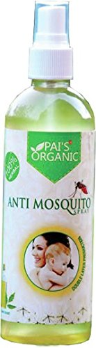 Pai's Mosquito Repellent / Insect Repellent Spray (Organic Protection From Chikungunya, Dengue & Malaria) - Pack Of 200 ml