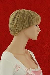 Blonde Kurzhaarfrisur