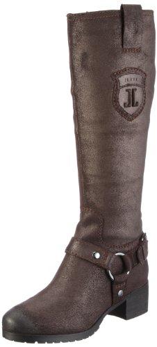 JETTE Emblem 2 Boot 63/12/02052, Damen, Stiefel, Braun (darkbrown/bronze 868), EU 42 (UK 8) (US 8)
