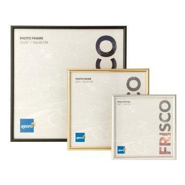 Kenro Frisco 6x6'' 15x15cm Black Photo Frame Pack