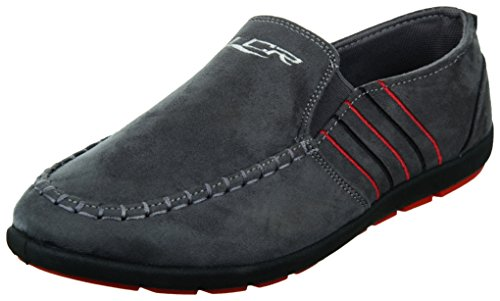 Lancer Men's Grey Loafers - 7 UK  available at amazon for Rs.655
