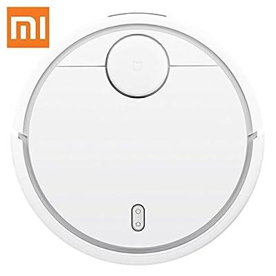 Xiaomi Vacuum Cleaner Robot Staubsaug Saugroboter roboter Kehrmaschine hohe Reinigungsleistung APP-Steuerung Reiniger mit Absaugung Weiß