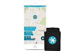ryd | OBD2 Stecker & App | inkl. SIM-Karte & Fahrtenbuch | Auto-Upgrade zum Smart-Car