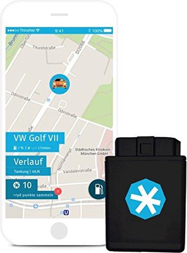 ryd | OBD2 Stecker & App | inkl. SIM-Karte & Fahrtenbuch | Auto-Upgrade zum Smart-Car -