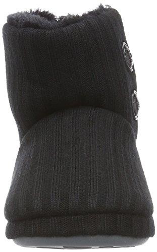 Pique-nique, Chaussons Femme Noir (noir)