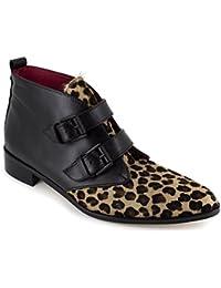Loca Lova Botín Cuero Leopardo LL105