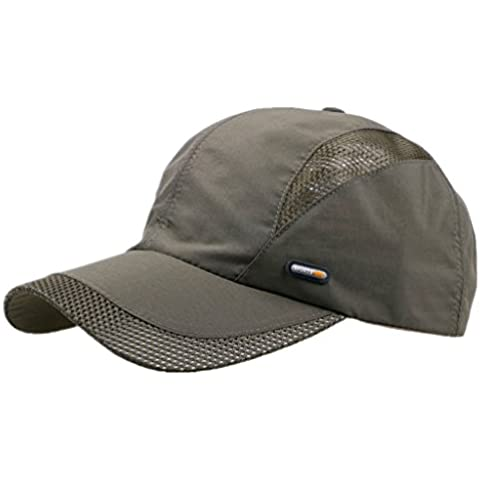 G7Explorer Quick Drying Breathable Hat Outdoor Cap Running Hats (Army Green)