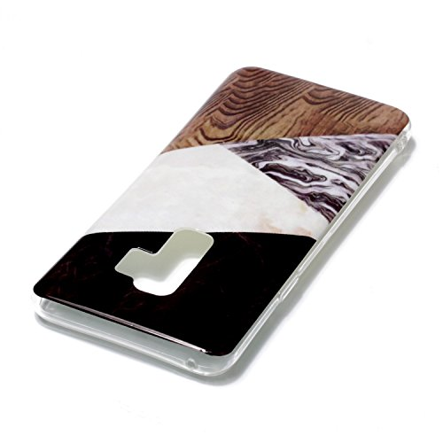frosted S9 cell conveniente Galaxy Slip custodia del cover cellulare realizzata Galaxy ultra custodia TPU shell per Anti in morbido color materiale del 4 phone inShang sottile S9 Samsung marble case e leggero gwpqBERpx