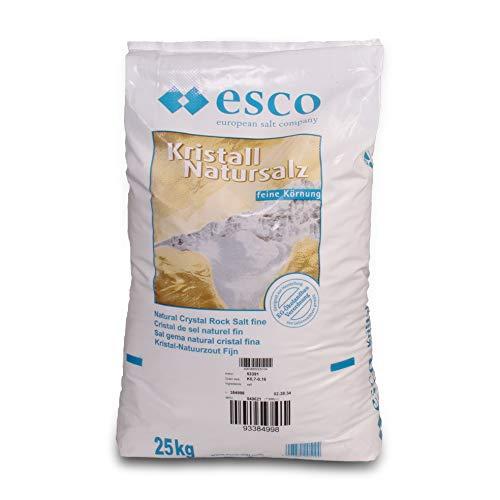 Kristall- Natursalz im 25 kg Sack BIO Qualität - Salz-kristalle