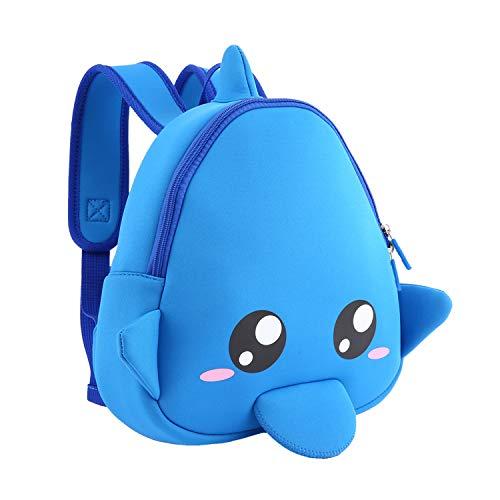 (Funlifly Rucksack Kinder Mini Backpack Kindergartentasche mit süßen Tier-Formen War, Rucksack Schule für 2-7 jährige Mädchen und Jungen)