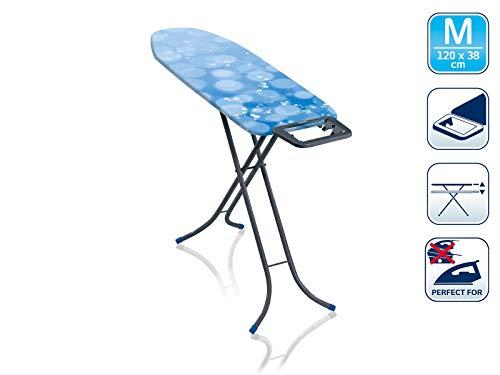 Leifheit 72437 Table à Repasser, Plastique, Bleu, M