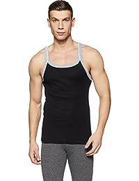 Hanes Men's Plain Cotton Vest (Colors May Vary)