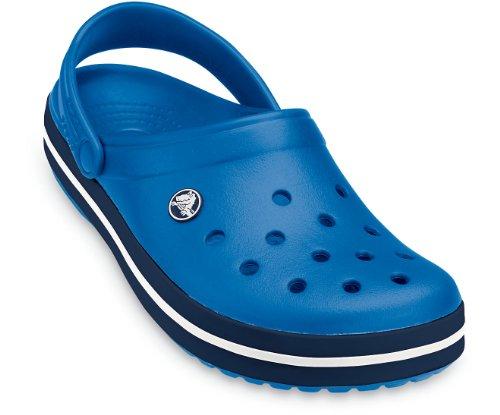 crocs Unisex-Erwachsene Crocband Clogs Blau
