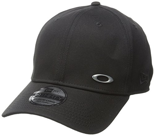 Oakley Apparel and Accessories Herren Stretch Fit Hats TINFOIL Cap, Black, M/L,...