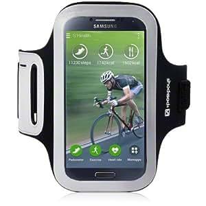Samsung Galaxy S4 Shocksock Reflective Sports Armband (Black)