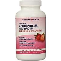 American Health acidophilus masticabili Con Bifidus, Fragola