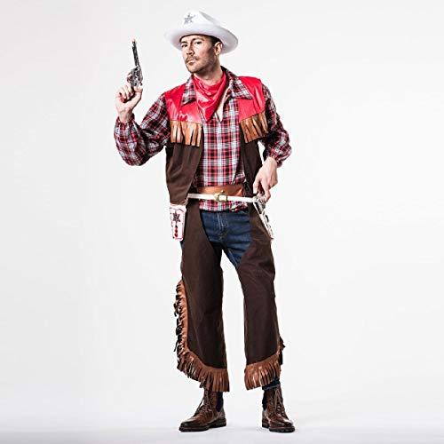 El Rey del Carnaval Kostüm Cowboy Bilder - Hombre, L (Cowboy Kostüm Bilder)