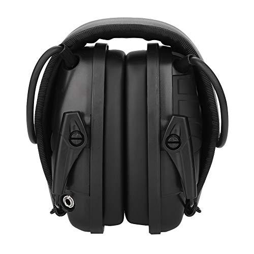 VBESTLIFE Elektronischer Ohrenschützer, Sport-Soundverstärkung, geräuschsicher, für Jagd, klappbar, NRR 22 dB