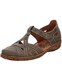 Damen Pumps, Mary Jane Schuhe Leder Slipper Damen Halbschuhe Klassische Pumps Vintage Flats Blockabsatz Bequem Schuhe Rot 2 41 Gracosy