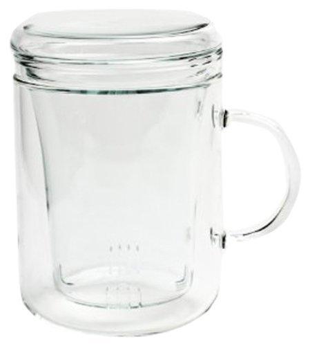 Trendglas Jena Teepott Zyclo mit Glasfilter, 0,3 Liter