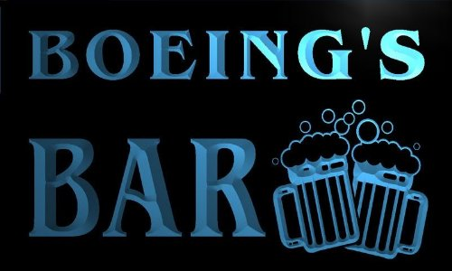 w064764-b-boeing-name-home-bar-pub-beer-mugs-cheers-neon-light-sign