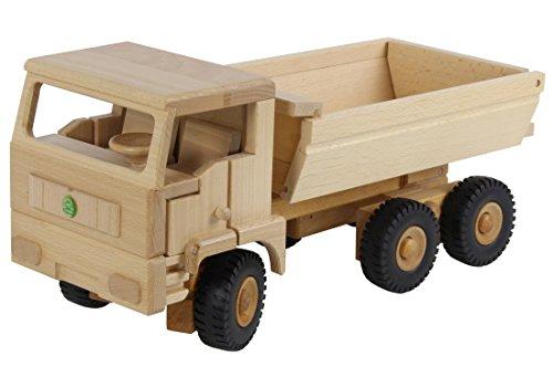 Preisvergleich Produktbild Drewa Holz 3-Achs Euro-M Kipper lenkbar für Kinder ab 3 Jahren